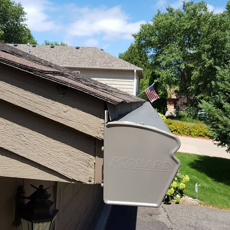 K Guard Amp Seamless Gutters New Richmond Wi All