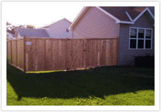 Wood Fencing - Custom-Built