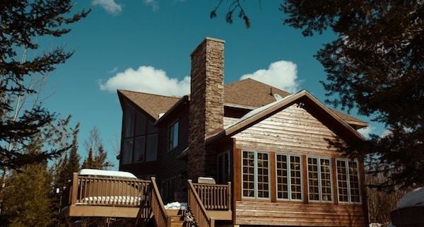 home exterior deck