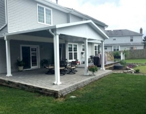 St. Thomas Patio Covers installation in Wisconsin and Minnesota